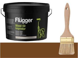 Flugger Wood Oil Impredur olej tarasu 0,7L BRĄZOWY