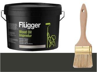 Flugger Wood Oil Impredur olej tarasu 0,7L GRAFIT