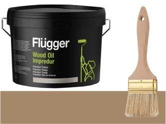 Flugger Wood Oil Impredur olej tarasu 0,7L Glina