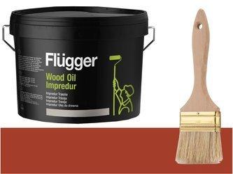 Flugger Wood Oil Impredur olej tarasu 0,7L OCHRA