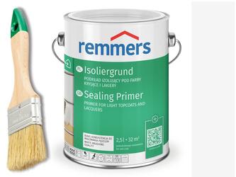 ISOLIERGRUND REMMERS podkład do drewna BIAŁY 2,5 L