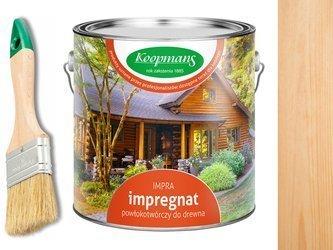 Impregnat IMPRA Koopmans 10L - BEZBARWNY UV