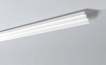 LISTWY PRZYSUFITOWE Białe NOMASTYL ST3 75x75mm