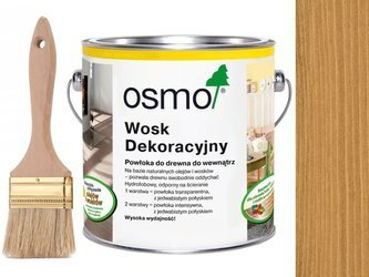 OSMO 3164 wosk dekoracyjny KOLOR DĄB 2,5L GRATIS