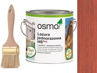 OSMO Lazura Jednorazowa 9234 CZERWIEŃ 750ml
