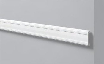 PROFIL PRZYŚCIENNY BIAŁY WALLSTYL WL5 85 x 15mm