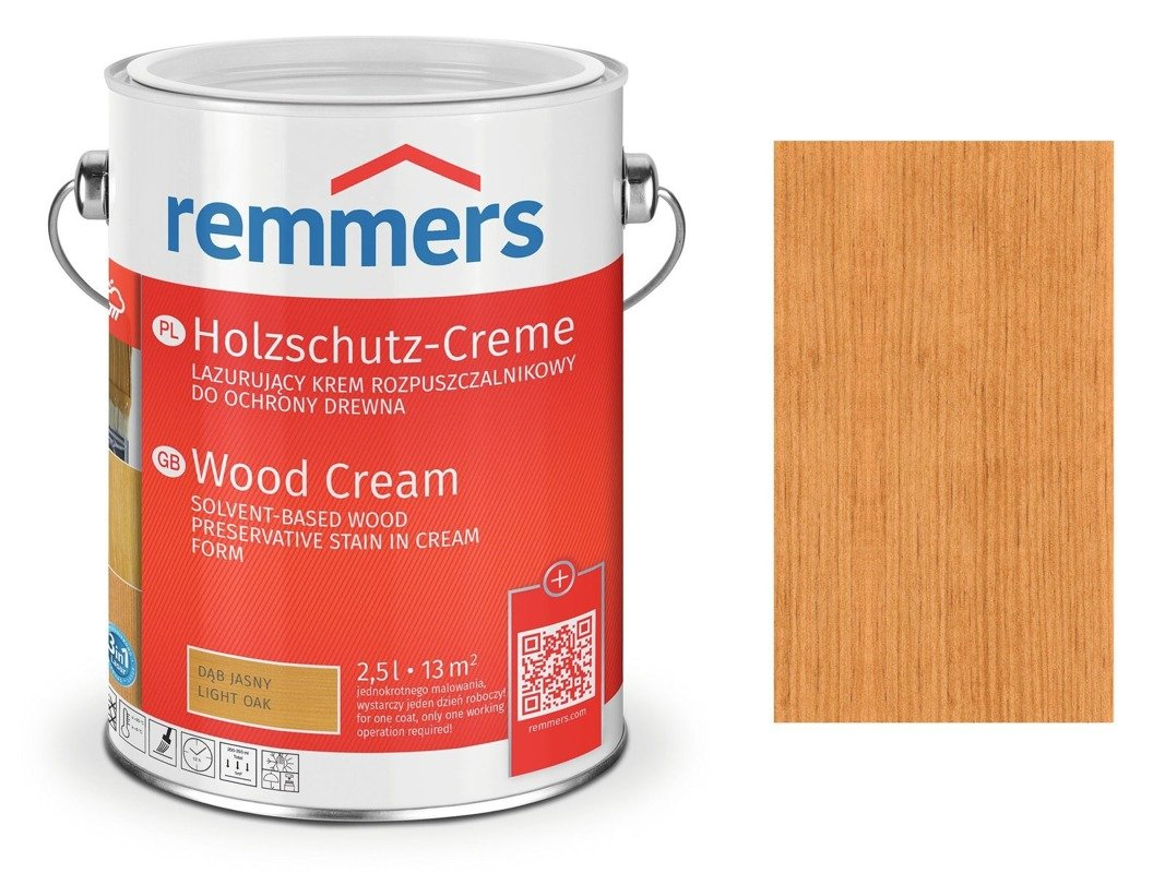 Holzschutz-Creme Remmers pinia modrzew 2717 5 L