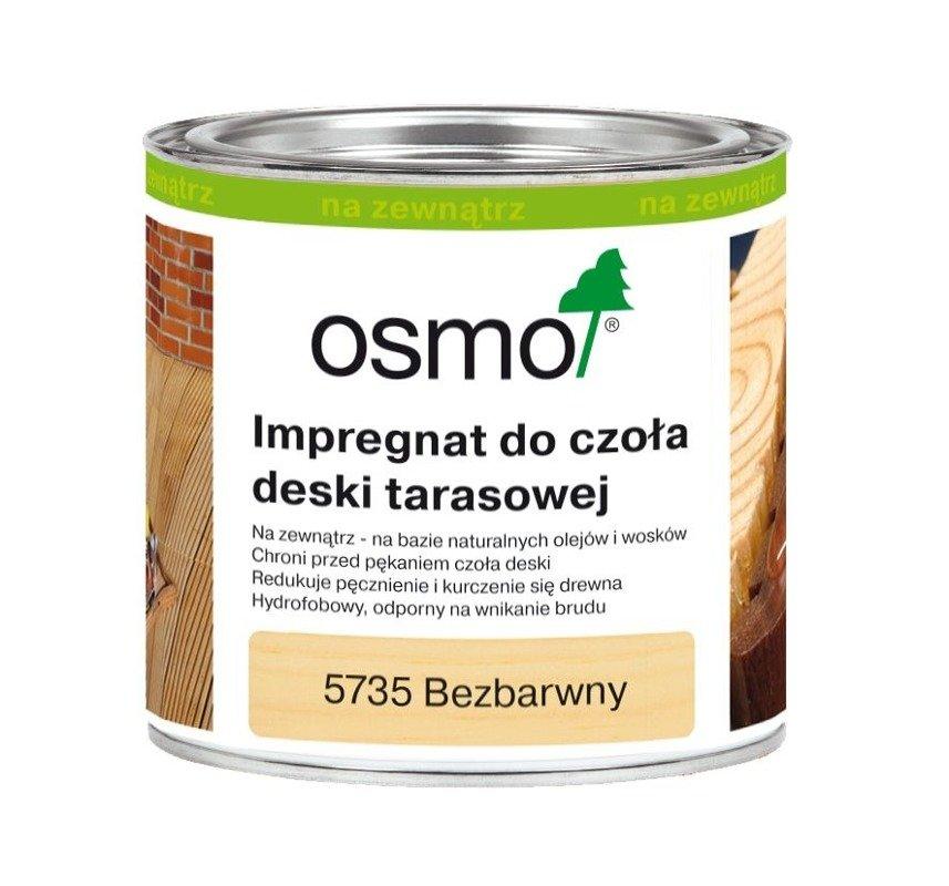 Impregnat Czoła Deski Bezbarwny OSMO 2,5L 5735