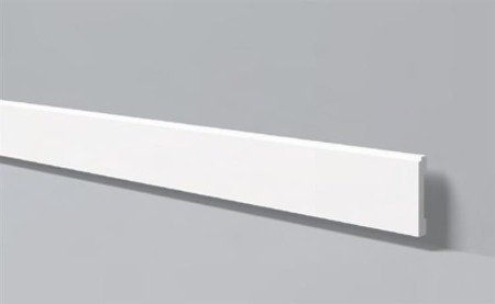 LISTWA PRZYPODŁOGOWA BIAŁA WALLSTYL FD1 100 x 15mm