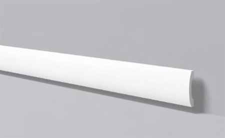 LISTWA PRZYPODŁOGOWA BIAŁA WALLSTYL FD3 100 x 20mm