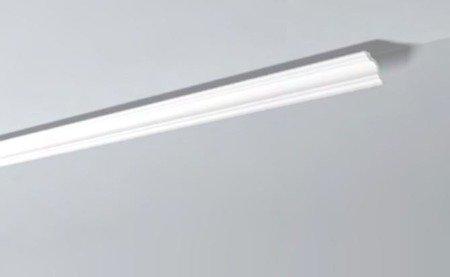 LISTWY PRZYSUFITOWE Białe NOMASTYL A2 50x50mm