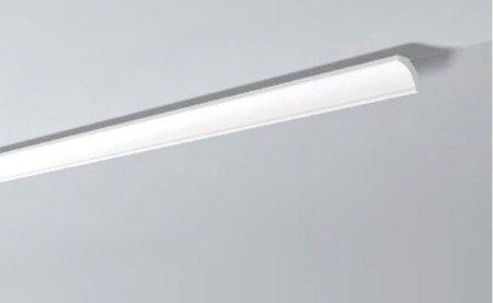 LISTWY PRZYSUFITOWE Białe NOMASTYL B5 50x50mm