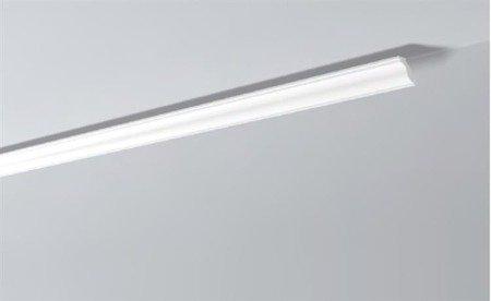 LISTWY PRZYSUFITOWE Białe NOMASTYL H 40x50mm