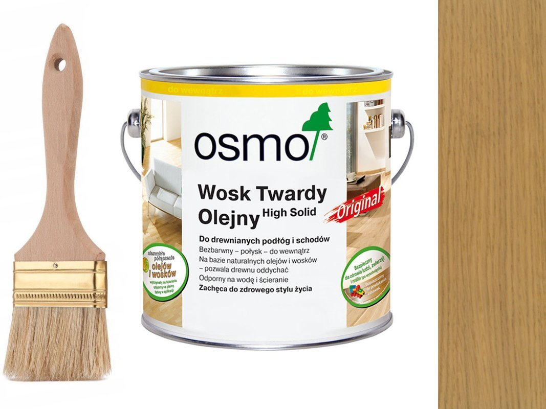 OSMO 3062 wosk twardy olej 25 L BEZBARWNY MAT