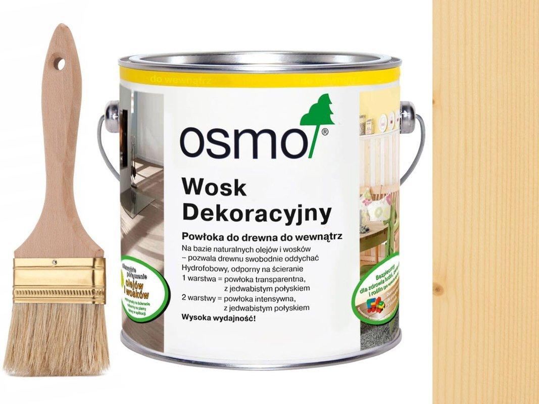 OSMO 3101 wosk dekoracyjny BEZBARWNY 0,75L