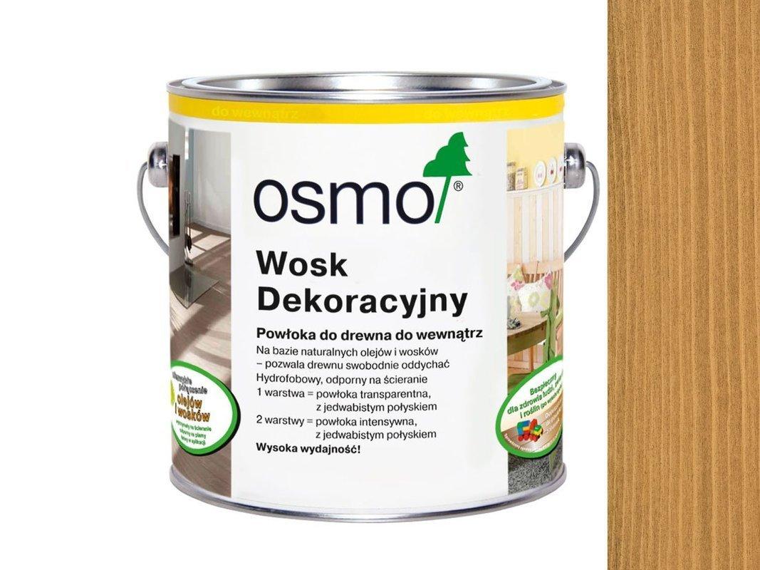 OSMO 3164 wosk dekoracyjny KOLOR DĄB 125ml