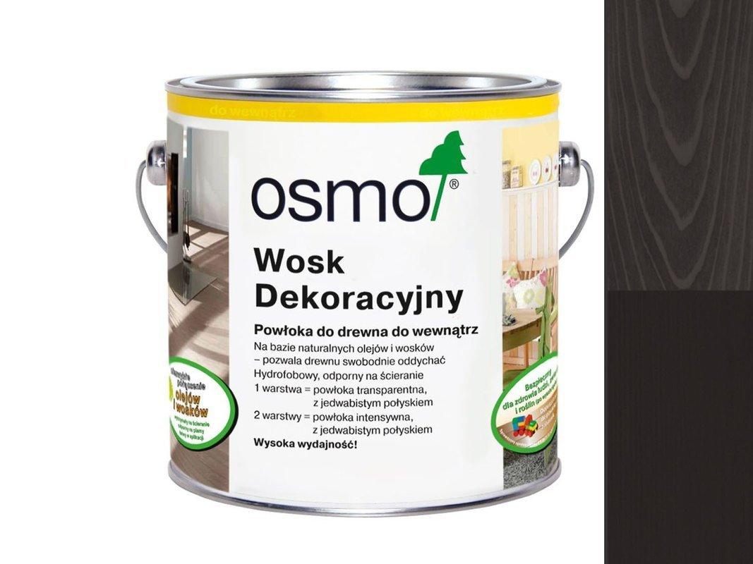 OSMO 3169 wosk dekoracyjny CZARNY 25L