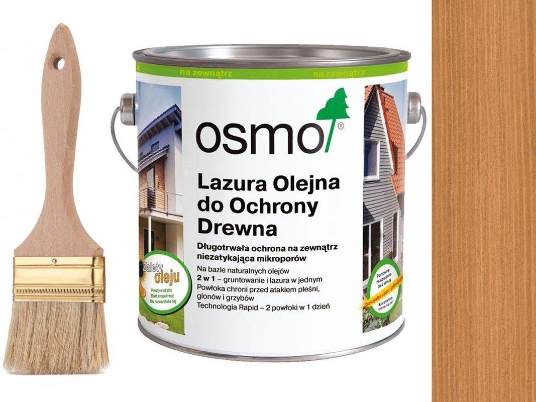 OSMO 702 Lazura Ochronna do drewna MODRZEW 2,5L