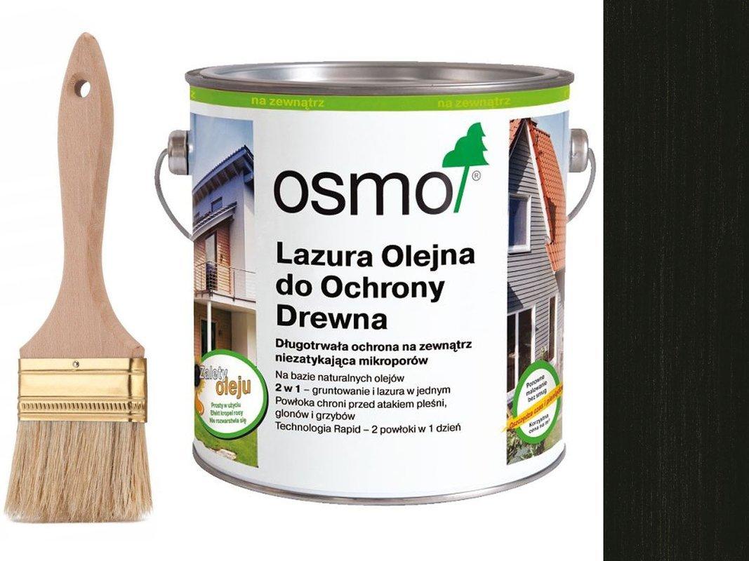 OSMO 712 Lazura Ochronna do drewna HEBAN 750ml