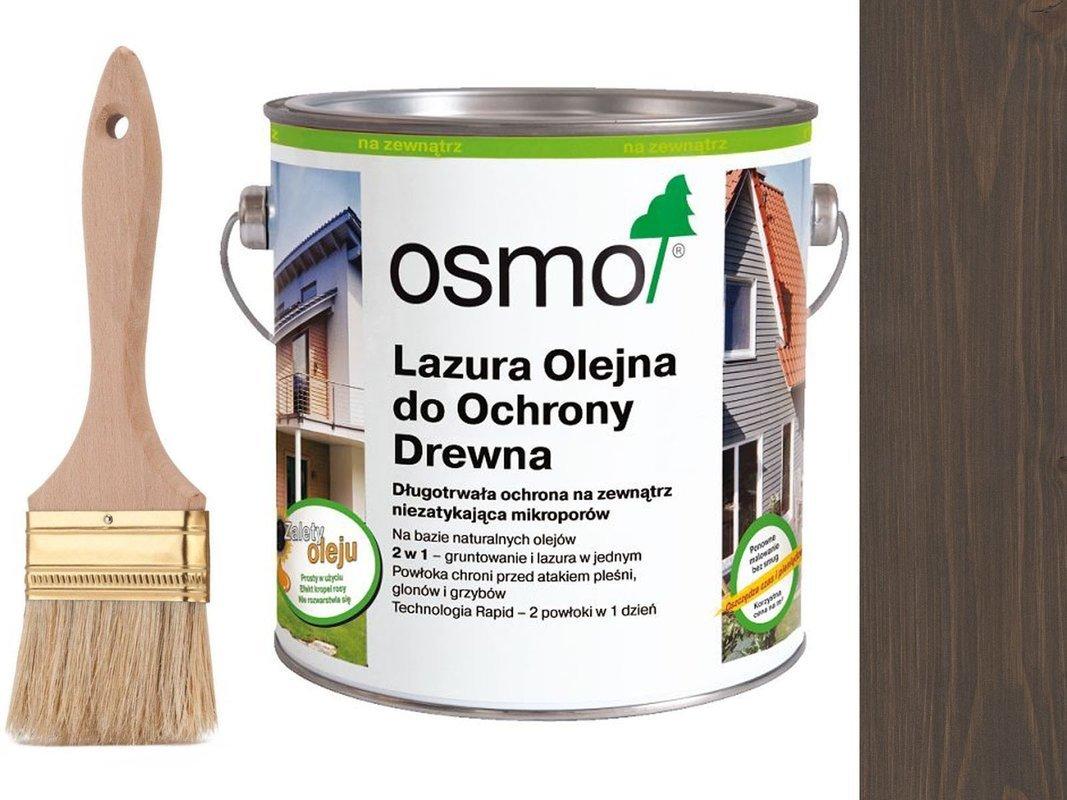 OSMO 907 Lazura Ochronna do drewna SZARY 25L