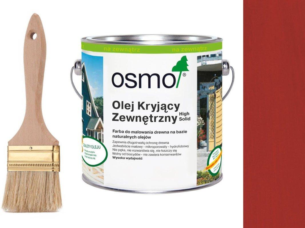 OSMO Olej Kryjący 2311 CZERWIEŃ KARMINOWA 25L