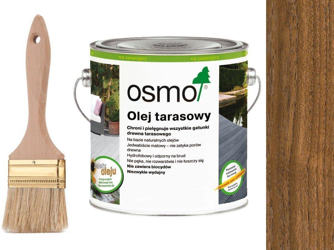 OSMO Olej do Tarasów 007 TEAK 750ml + GRATIS