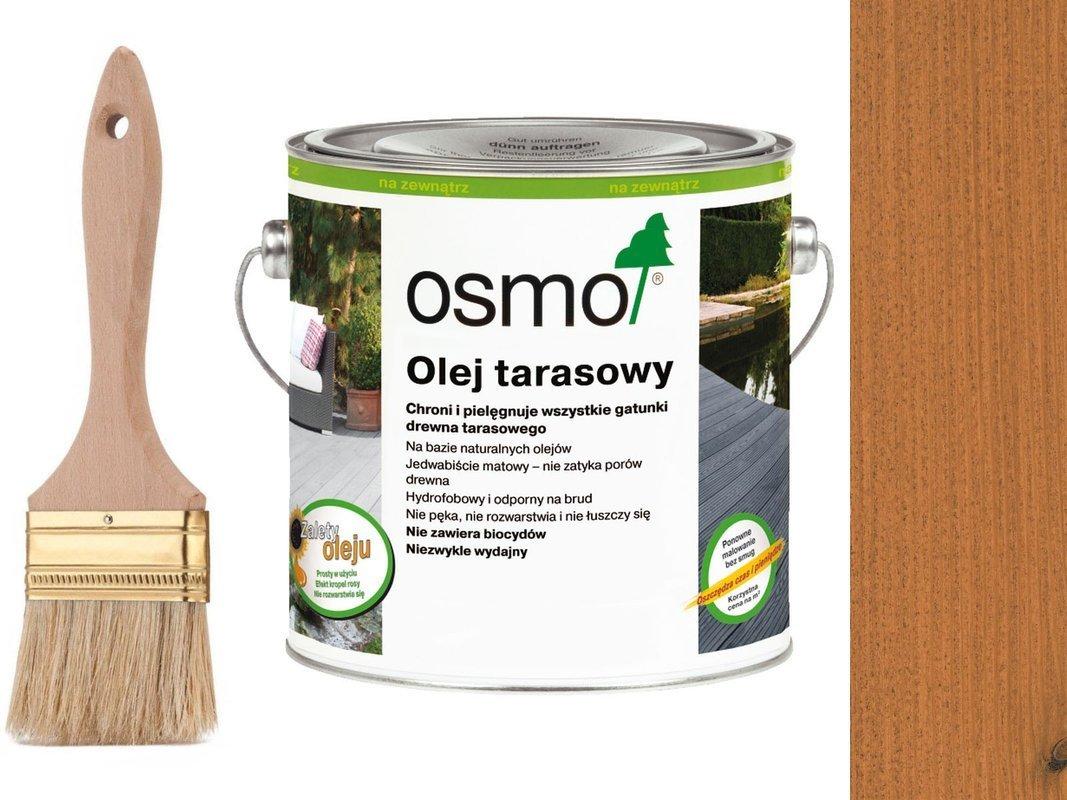 OSMO Olej do Tarasów 009 MODRZEW 25L + GRATIS