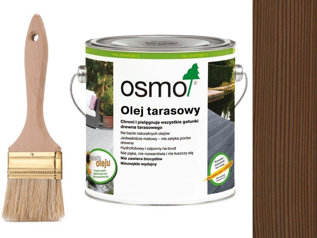 OSMO Olej do Tarasów 010 TERMODREWNO 0,75L GRATIS