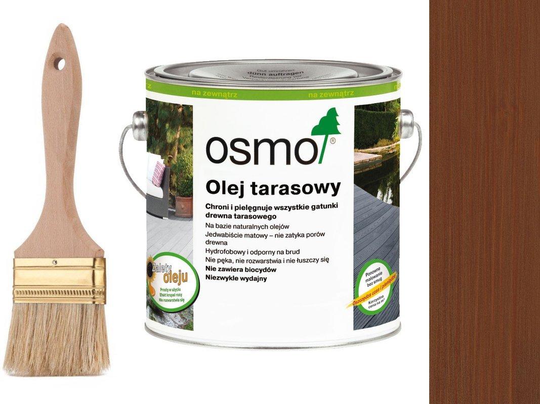 OSMO Olej do Tarasów 016 BANGKIRAI 2,5L + GRATIS