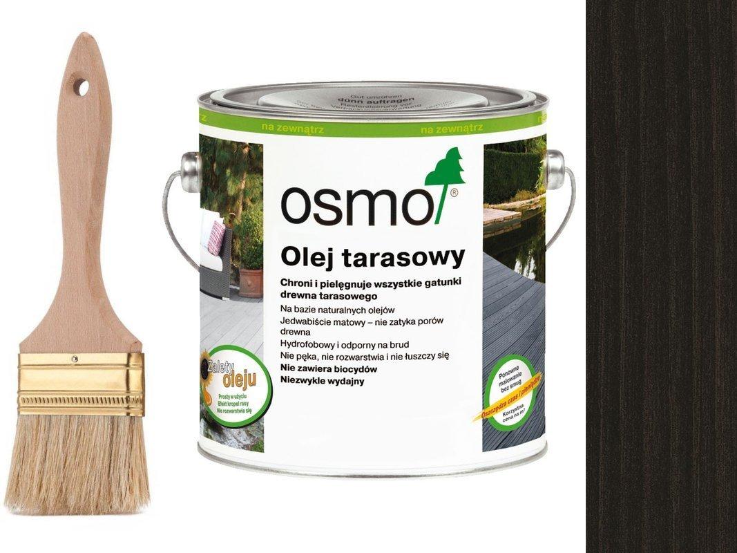 OSMO Olej do Tarasów 020 CZARNY 0,75L + GRATIS