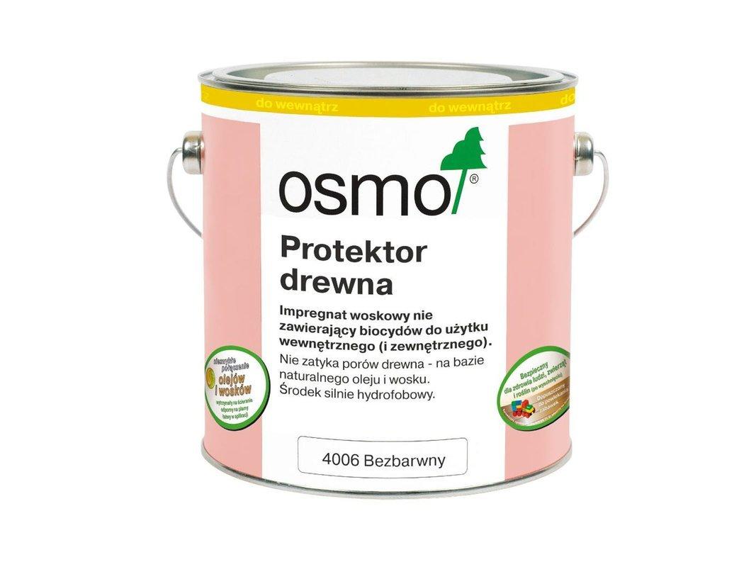 OSMO Protektor do Drewna BEZBARWNY 4006 125ml