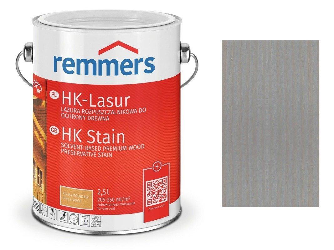 Remmers HK-Lasur impregnat do drewna 2,5 L SZARY